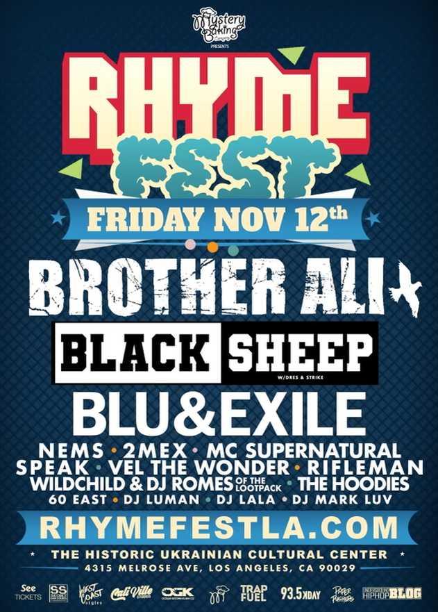 Rhyme Fest LA